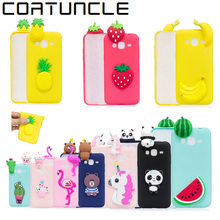 COATUNCLE Soft TPU Phone Case sFor Samsung galaxy J3 2016 3D Silicon Dolls Toys Cartoon Cover For Fundas Samsung J3 2015 Case(China)