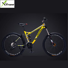 Buy New Brand Aluminum Alloy Frame Mountain Bike Outdoor Downhill Oil Disc Brake 24 27 Speed Soft Tail Bicicleta Damping Bicycle for $453.20 in AliExpress store