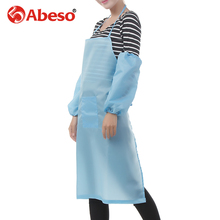 ABESO apron in electron industrial application production of materials chemical experiment printing industry blue/yellow/white/p(China)