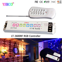 DC12V-24V LTECH LT-3600RF Multi function led RGB Controller(Common Anode) MAX18A input for RGB LED Strip light module(China)