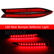Car LED Red Rear Bumper Reflector Light For Honda Accord 9th LED Parking Warning Stop Brake Lamp Tail Lantern Quality Asssured