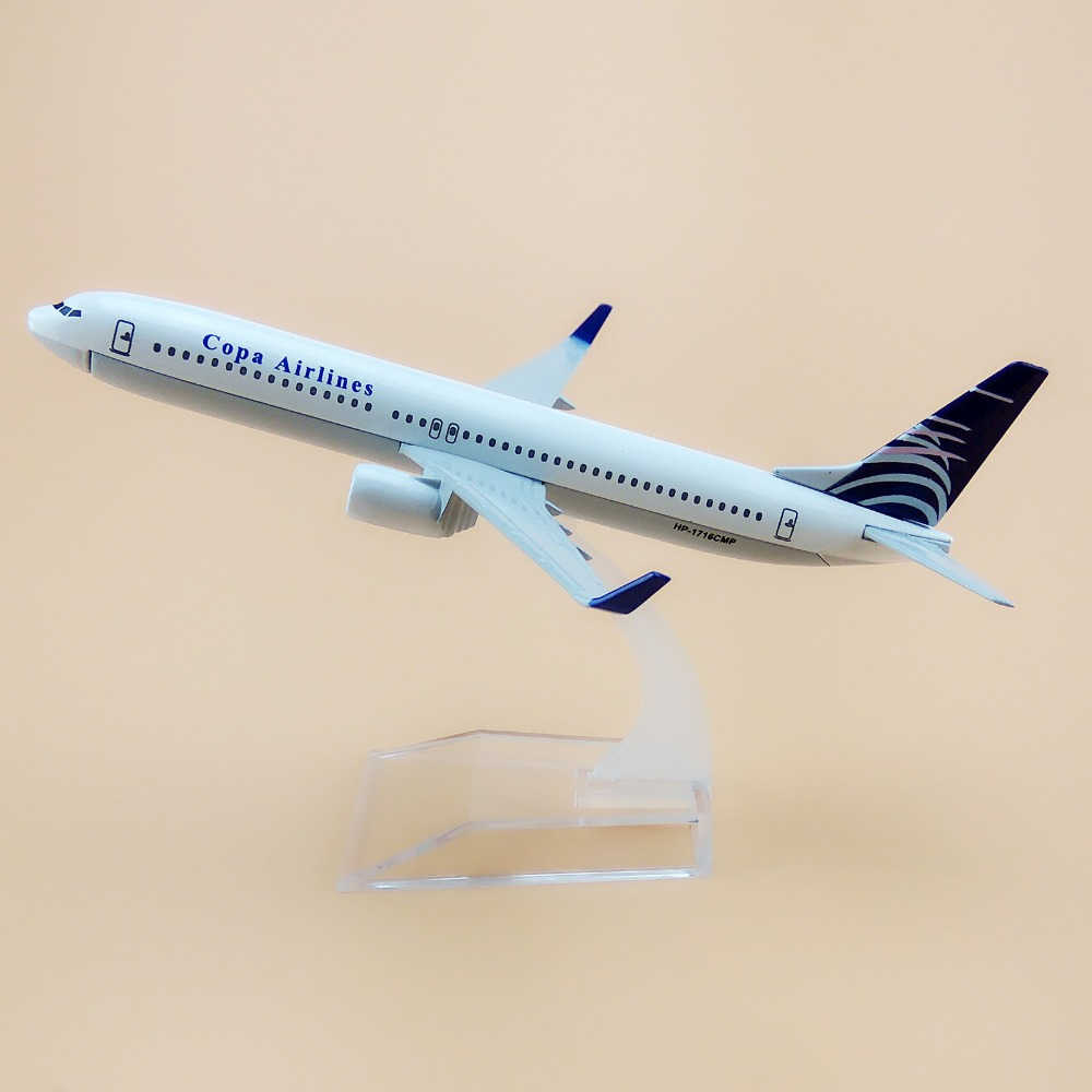 16cm Alloy Metal Air Copa Airlines Airplane Model Boeing 737 B737-800 Airways Plane Model Diecast Collections(China (Mainland))
