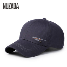 Brands NUZADA Men Women Baseball Caps Snapback Hats Cap Hip Hop Can Adjust Size Simple Fashion cotton 100% cm-004(China)