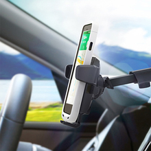 Mobile Phone Holder Adjustable Long Lever Model Sucker Type Automatic Locking Phone Car Holder for All IOS Android Cellphones