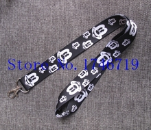Retail 1 pcs Popular Cartoon Mickey Head  Straps Lanyard  ID Badge Holders Mobile Neck Key chains For Party Gift PO-99