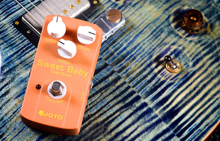 Joyo JF-36 Sweet Baby Overdrive Guitar Effect Pedal with Free Pedal Case<br>
