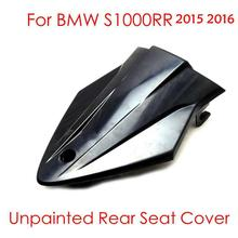 For BMW S 1000RR Motorcycle ABS Plastic Unpainted Rear Seat Cover Fairing Cowl For BMW S1000 RR 2015 2016 after market