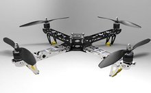 ST450 Four-rotor Aircraft/ Quadcopter (Folding design) Kit W/4 Motors(Hong Kong,China)