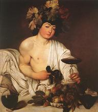 100 %hand-painted famous artists painting reproduction by Caravaggio handmade  oil painting high quality Bacchus