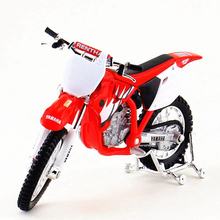 1:18 Scale Motorcycle Toy, Diecast & ABS Emulation Motorcycle Car, Yamaha YZ-450F Motorbike Model, Kids Toys, Brinquedos(China)