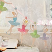 Ballet Girl  ballerina Wedding Paper Flags Party Bunting Banner for Party Favors kids Birthday party Decoration