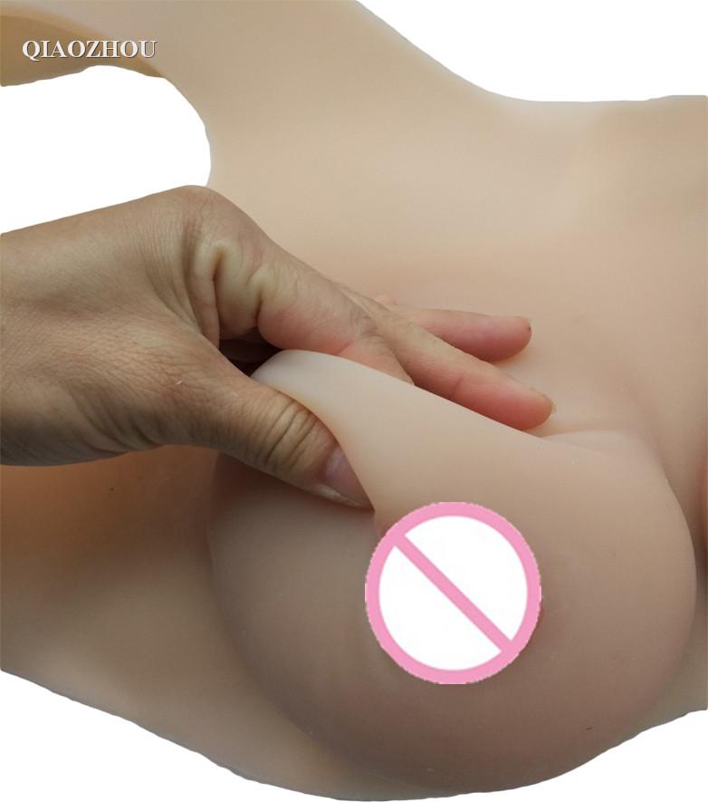 4 realistic breast boobs