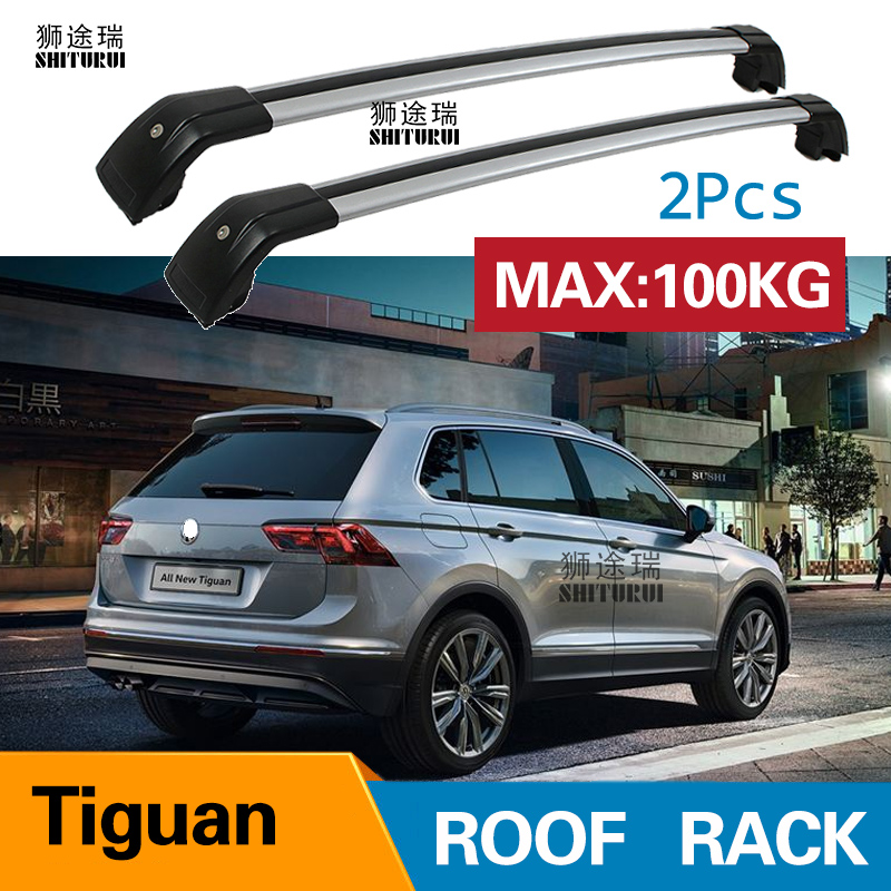 Fits For All New VW Volkswagen Atlas 2018 2019 Roof Rack Cross Bar Key Cargo bar