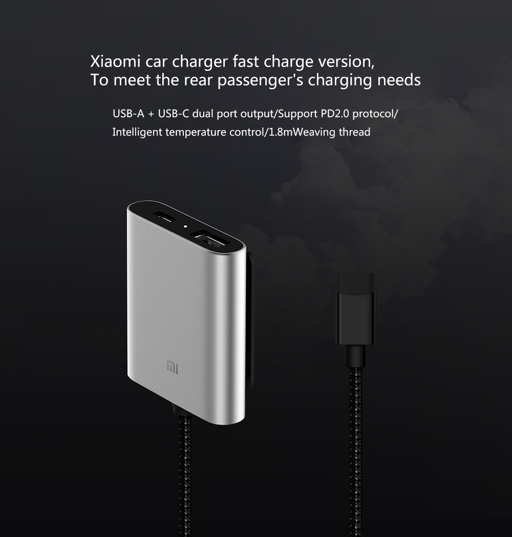 Xiaomi Car Charger QC3.0 Fast Version Extended Accessory (17)