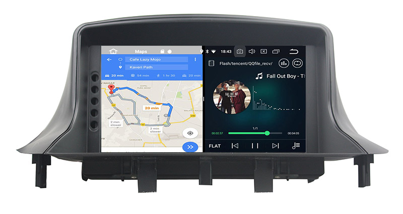 renault megane mk3 head unit android 8.0 stereo upgrade 3