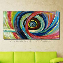 Handmade Oil Paintings Abstract Painting On The Canvas Circle Abstract Painting The Sitting Room Is Free Shipping No Frame