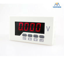 DV51 48*96 mm LED display single phase AC/DC80V~270V car battery voltage meter