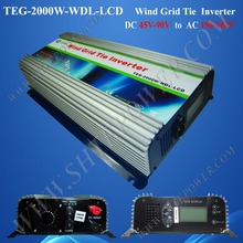 2000w wind turbine generator power inverter DC 48v 72v to AC 220v 230v 240v(China)