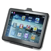 Universal 7 inch touch screen Car GPS Navigation Sat Nav FM transmitter 8GB bundle free maps.(China)