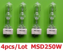 4xLOT Free shipping 2015 Stage Lamp MSD 250/2 MSD250W 90V Bulb High Quality Lamp For Professional Stage Lighting Equipments(China)