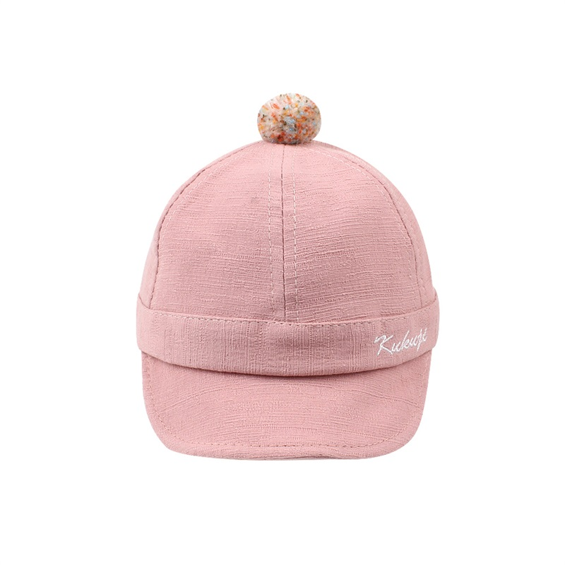 Casual Cotton Baby Caps Infant Toddler Baby Baseball Caps Fashion Boys Sun Caps Cute Girls Hat Autumn 6-24M Baby Boys Clothing (7)