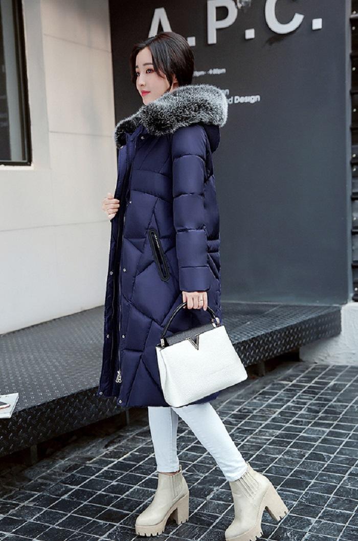 2017 Winter Women Coat Thicken Warm Long Jacket women coat girls long slim big coat jacket Down Parka+16 (1)