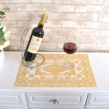 Europe PVC Table Cloth Rectangular Waterproof Tablecloth for Wedding Living Room Kitchen Elegant gold Tablecloth Cover Set T29