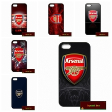 Phone Cases Cover For iPhone 4 4S 5 5S 5C SE 6 6S 7 Plus 4.7 5.5 ARSENAL FC FLogo Case Cover #HE1566(China)