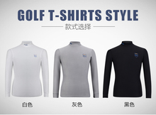 Men Brief Figuring Style Long-Sleeve Shirts Mens Golf Apparel Workout Shirt Mens Long Sleeve Thicker and Warmer Can Be Underwear