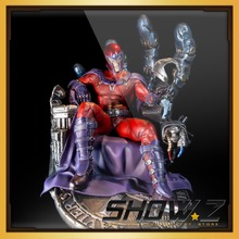 [Show.Z Store] Magneto 1:4 Bust Custom Made Xm Studios Marvel Magneto Throne Sentinel Statue 1:4 Scale