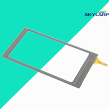 10 pcs New 4''inch OEM New Touch Screen Digitizer Glass Sensors Parts Replacement For Garmin Montana 600 650 GPS touch panel