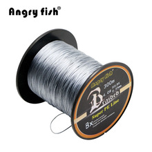 Wholesale 300 Meters 8x Braided Fishing Line 12 Colors Super PE Line(China)