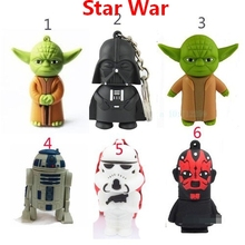 Star Wars Cartoon 2.0 Pen Drive 512GB Usb Flash Drive Memory Stick Soldier YODA Pen Drive 128GB Darth Vader Pendrive 256GB 64GB
