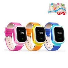 9Tong Children GPS GSM GPRS Watch Location Finder Tracker Q60 Smartwatch for Kids Safe Anti-Lost Remote Monitor PK Q50 Q80 B0