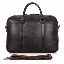 JMD 100% Genuine Leather Handbag Top Handle Briefcases Men's Laptop Case 7231A/Q/B