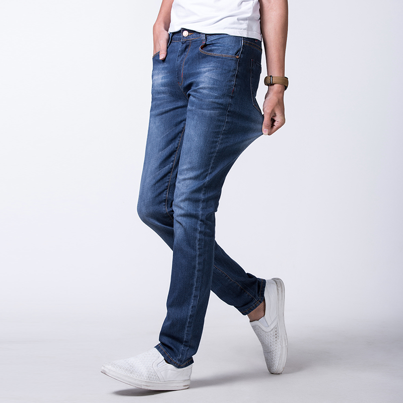 New arrivals mens slim  ripped jeans denim hombre straight stretch hot sale mens clothing plus size 28-48#YF3818Одежда и ак�е��уары<br><br><br>Aliexpress