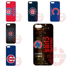 For Apple iPhone 4 4S 5 5C SE 6 6S 7 7S Plus 4.7 5.5 iPod Touch 4 5 6 Plastic Chicago Cubs MLB Baseball