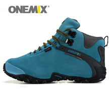Winter Women's outdoor fur Hiking Shoes Women Trekking Warm Resistant Breathable Sport Shoes Mountain Climbing Sneakers(China)