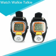 Portable Digital Wrist Watch Walkie Talkie Two-Way Radio for Outdoor Sport Hiking, Camouflage.462MHZ.1pair.