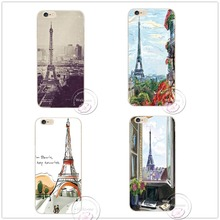 New products Sell like hot cakes For Apple iPhone 4 4 s 5 5 s 5 c 6 6 s Plus splus Eiffel Tower Plastic Case Back Cover