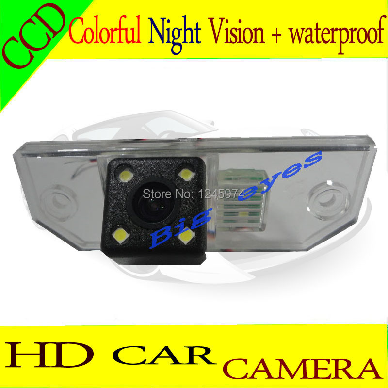 Night vision 4 LED CCD Special Car Rear View Reverse backup Camera rearview reversing forFord Focus Sedan | C-MAX | MONDEO(China (Mainland))