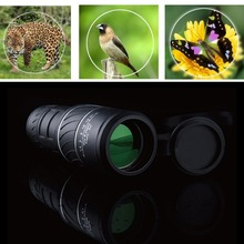 Outdoor Accessories Day & Night Vision 40x60 HD Optical Monocular Hunting Camping Hiking Telescope