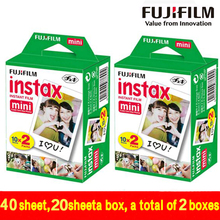 Genuine 40 Sheets White Edge Fuji Fujifilm Instax Mini 8 Film For 8 50s 7s 7 90 25 Share SP-1 Instant Camera Fast 2018 is valid