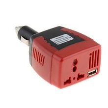 1 PC New DC TO AC 75W Main Car Power Inverter Converter Charger For Mobile Laptop Hot Selling VEK01 P50(China)