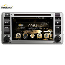 NAVITOPIA 6.2Inch Pure Android 5.1.1 Car Radio for HYUNDAI SANTA FE 2006-2012 GPS Navigation+DVD Player