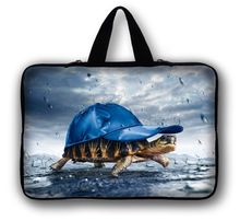 "Free Shipping Turtle 10""  Laptop Sleeve Bag Case Pouch + Hide Handle For 10.1"" ASUS Eee Pad TF10 Tablet PC"