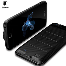 Baseus Battery Charger Case For iPhone 6 6s Plus 2500/3650mAh Backup Power Bank Charging Case External Powerbank Cover Case(China)