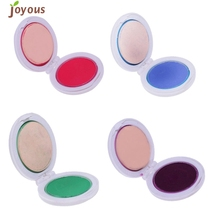 4pc Original Style Temporary Hair Dying Powder Colorful Hair Highlights Hair Product G6902