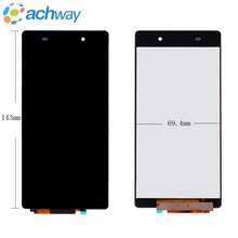 143mm*69.4mm For Sony Xperia Z2 L50W LCD Display Touch Screen Digitizer Assembly D6502 D6503 For SONY Z2 LCD 3G Replacement(China)