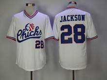 28 Bo Jackson Jersey Chicks Movie jerseys 29 Bo Jackson Auburn Tigers Jersey Stitched Throwback Baseball Jerseys Viva Villa